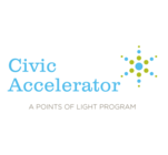Points of Light Civic Accelerator's Logo